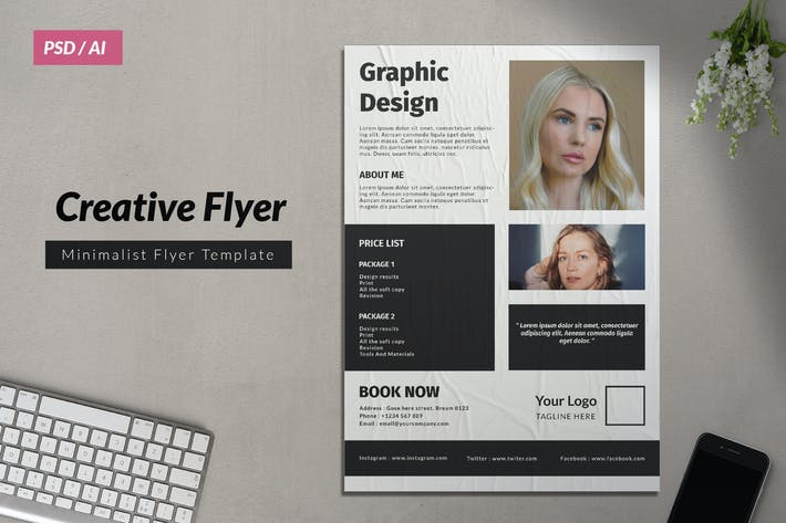 Cover Image For Creative Business Flyer 8