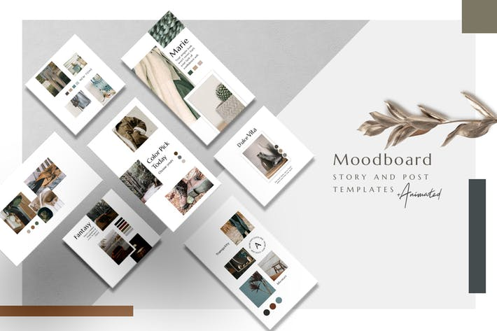 Thumbnail for Moodboard - Animated Instagram Basic Pack