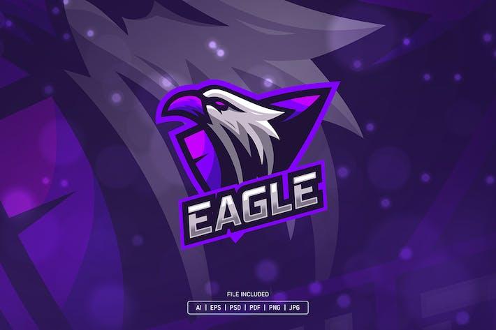 Thumbnail for Eagle purple esport logo
