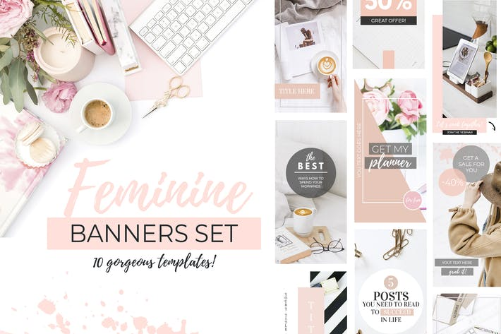 Thumbnail for Banners for Blog or Pinterest