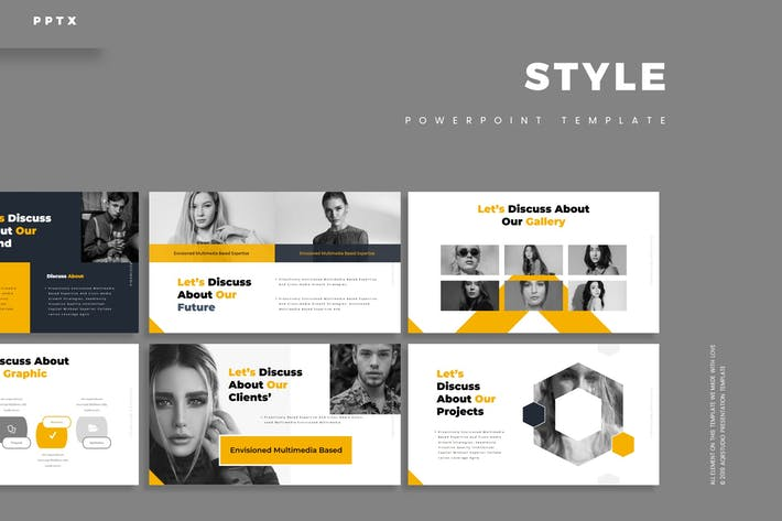 Thumbnail for Style - Powerpoint Template