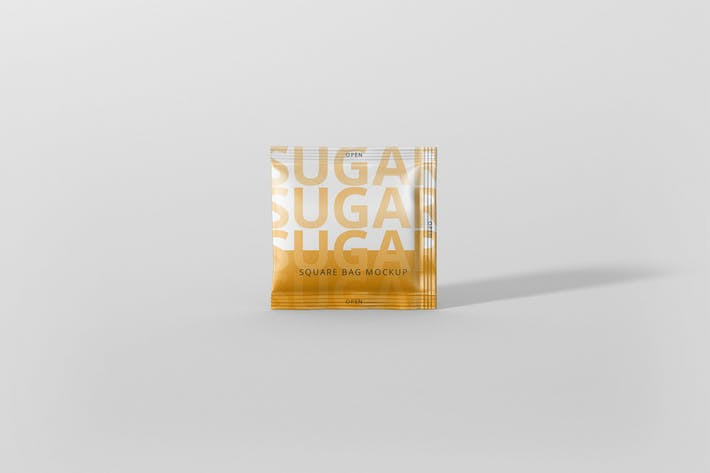 Thumbnail for Salt / Sugar Bag Mockup - Square
