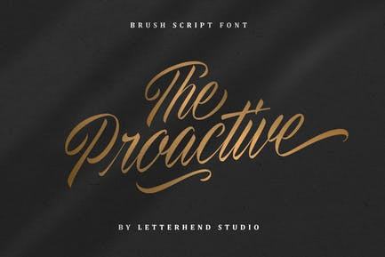 The Proactive Script