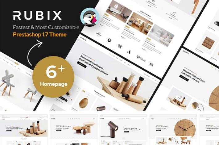 Rubix - Responsive Prestashop 1.7 Tema