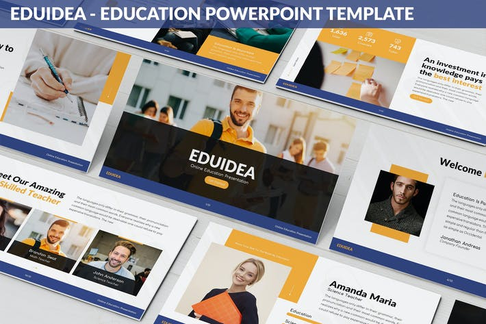 Thumbnail for Eduidea - Education Powerpoint Template