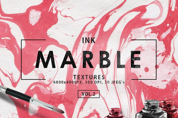 Thumbnail for Multicolor Marble Ink Backgrounds Vol. 2