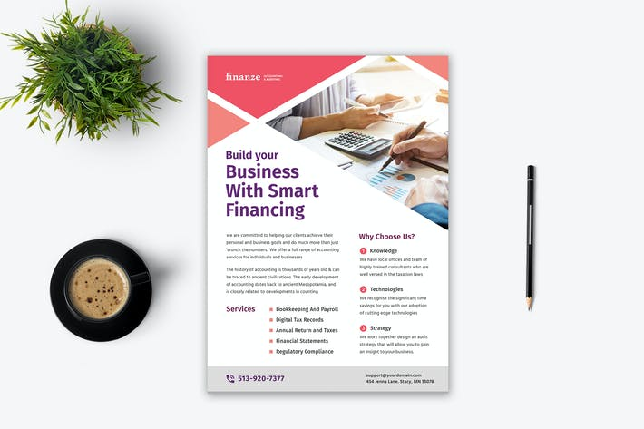 Thumbnail for Accountant Flyer