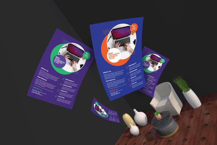 Thumbnail for Two Studio - Creative Design Agentur Flyer