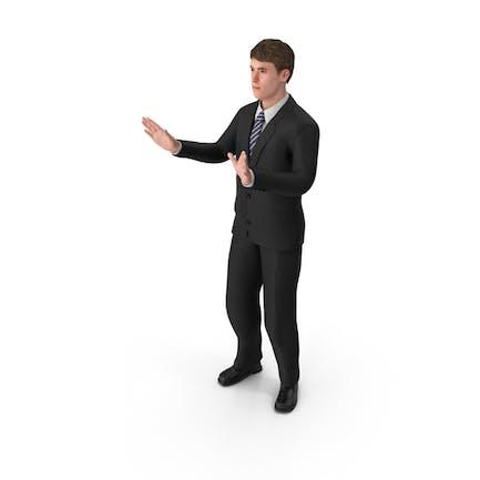 Businessman John Talking