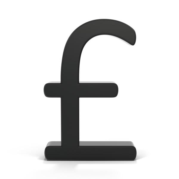 Thumbnail for Pounds Symbol Black Bold
