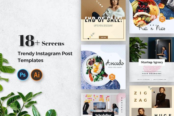 Thumbnail for Instagram Post Modèles