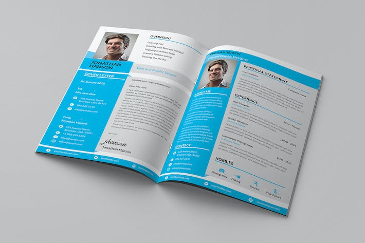 Thumbnail for Civy - A4 Resume Template