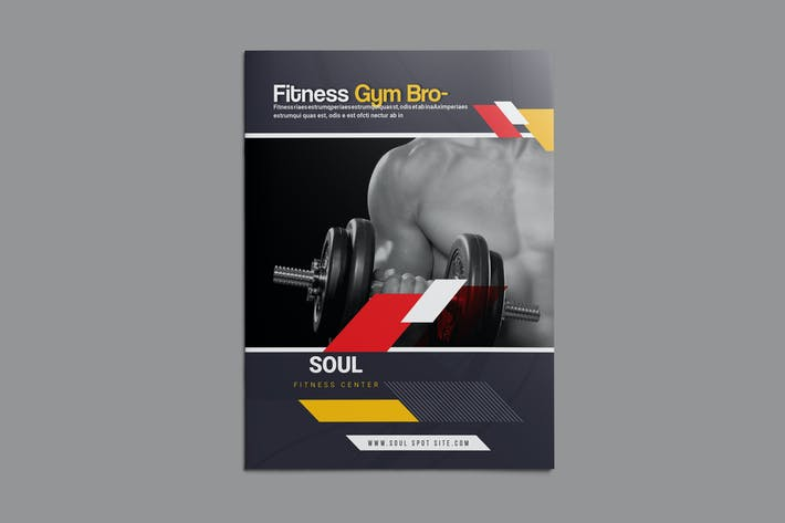 Thumbnail for Fitness - Gym Bifold Brochure