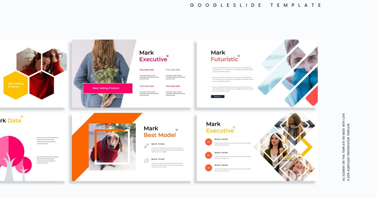 Download Mark - Google Slides Template by aqrstudio