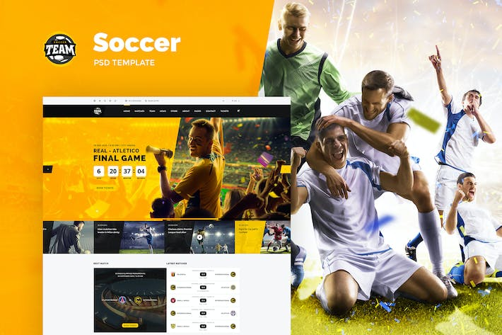 Cover Image For Soccer Team