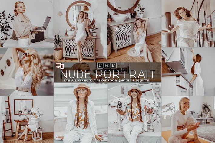 Thumbnail for Nude Portrait Presets Lightroom
