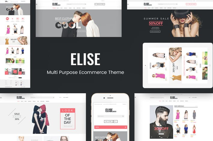 Thumbnail for Elise - Fashion WooCommerce WordPress Theme