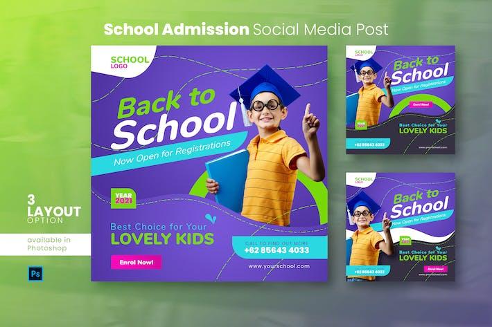 Thumbnail for Schuleintritt Social Media Post