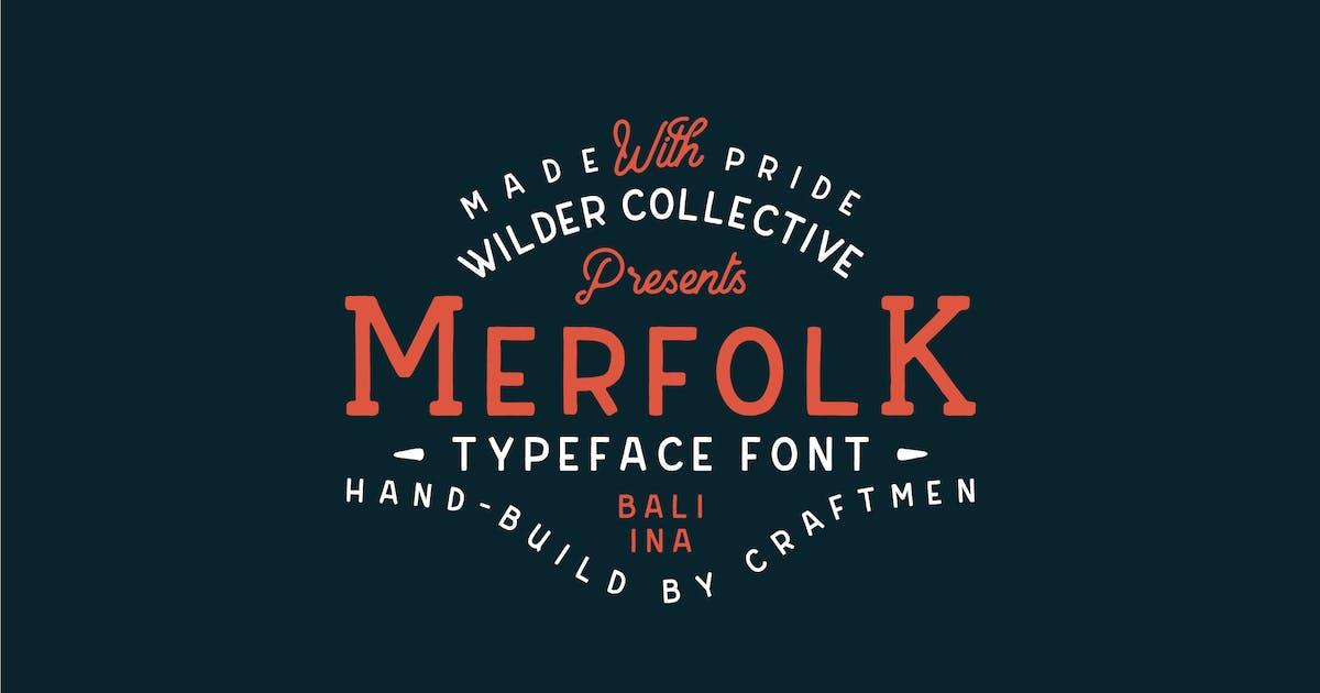 Download Merfolk Typeface Font by tacikworks