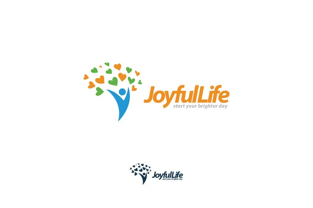 Joyful Life - Wellness & Health Logo