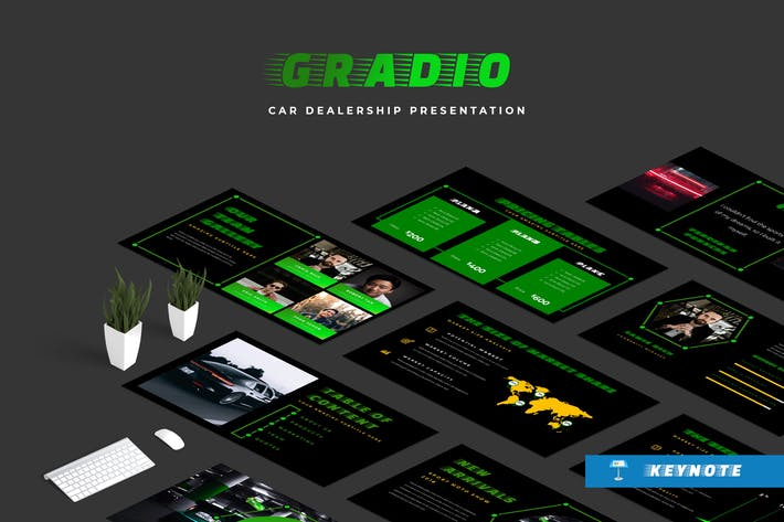 Thumbnail for Gradio Car Dealership Keynote Presentation