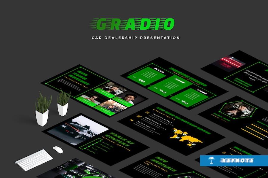 Gradio Car Dealership Keynote Presentation