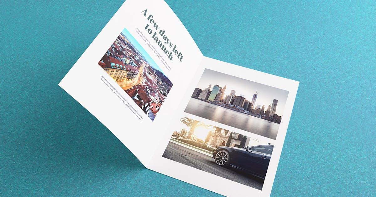 Download Bi-Fold Brochure / Flyer Mockups by WpWay_