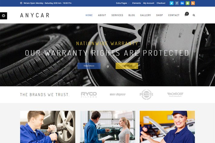 Thumbnail for AnyCar - HTML Template for Automotive & Business