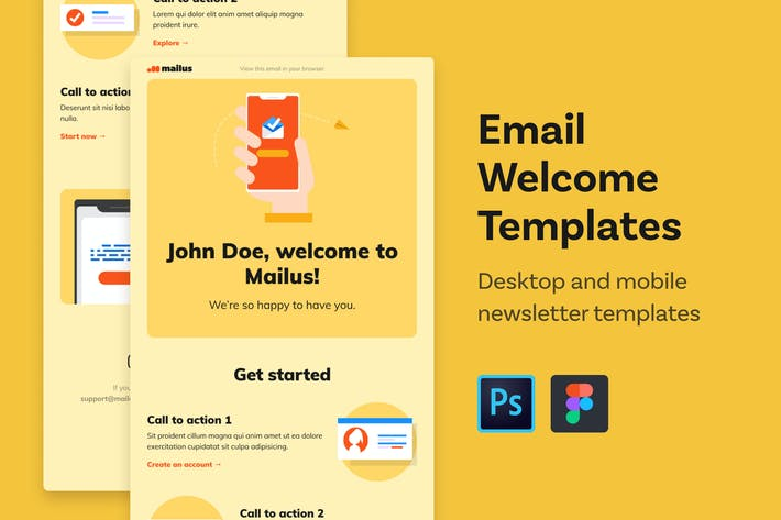 Thumbnail for Email Templates (Welcome)