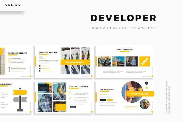 Developer - Google Slide Template
