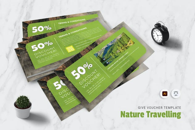 Nature Traveling Gift Voucher