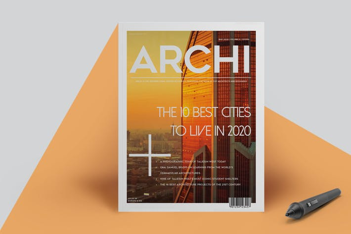 Thumbnail for Architecture Magazine