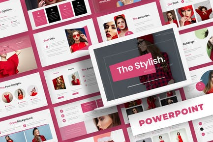 The Stylish - Powerpoint Template