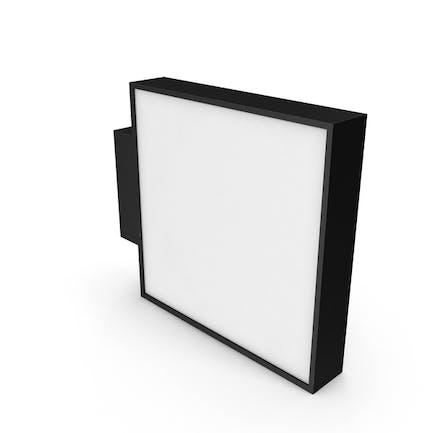 Schaufensterschild