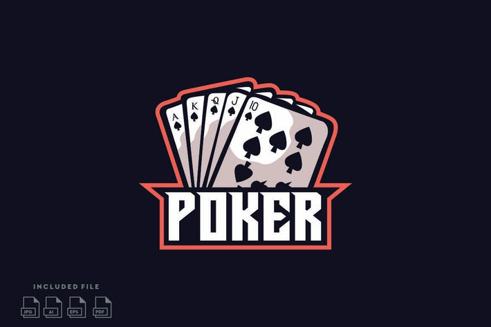 Thumbnail for Poker Logo Design Vector