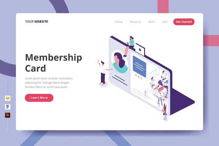 Thumbnail for Membership Card - Landing Page