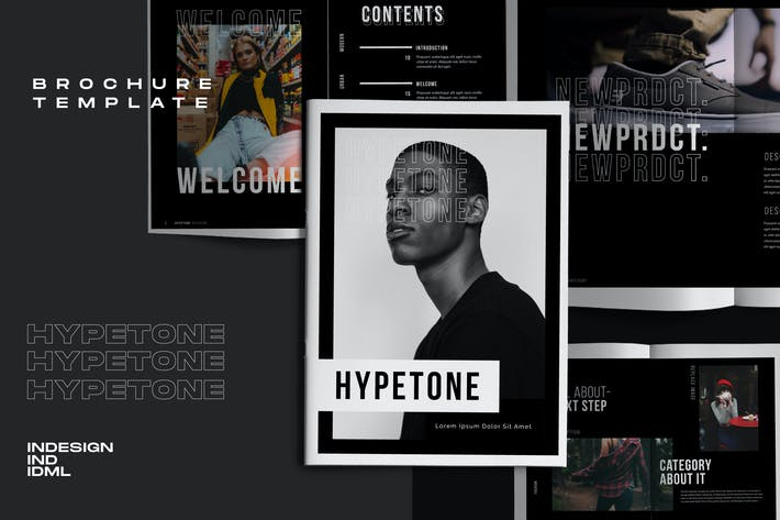 Thumbnail for Hypetone - Creative Urban Brochure Business