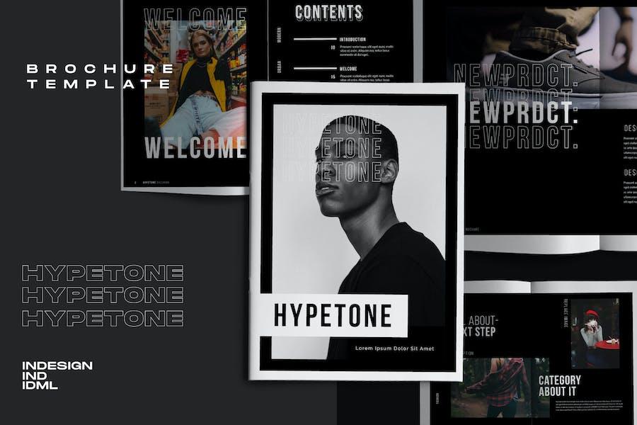 Hypetone - Creative Urban Brochure