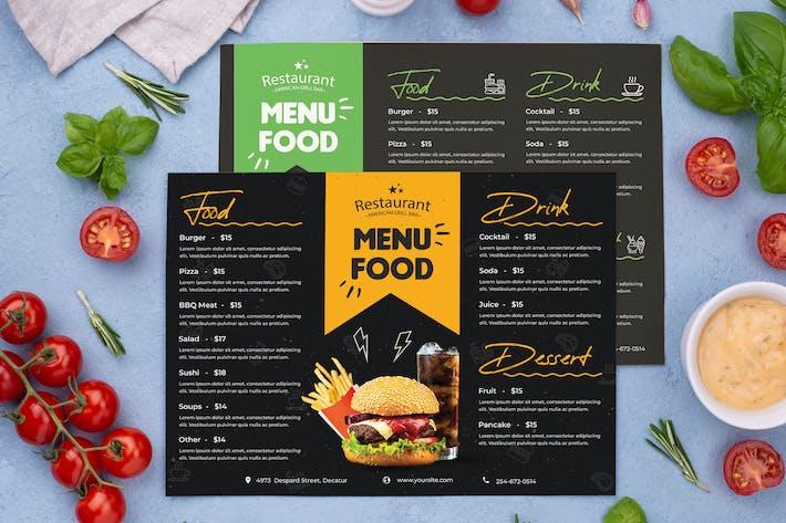 Thumbnail for Menu Restaurant Nourriture