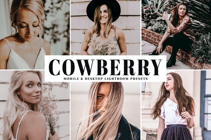 Thumbnail for Cowberry Mobile & Desktop Lightroom Presets