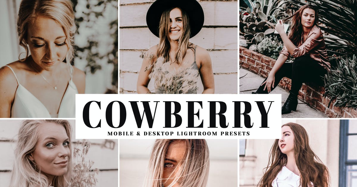 Download Cowberry Mobile & Desktop Lightroom Presets by creativetacos