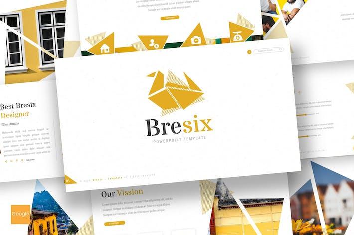 Thumbnail for Bresix - Google Slides Template