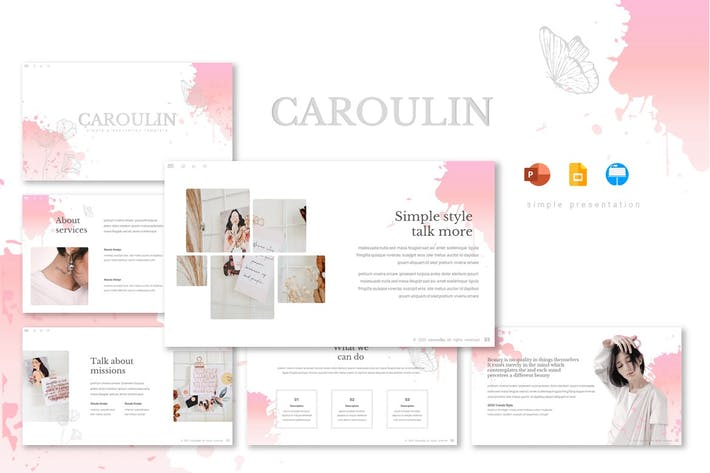 Thumbnail for Caroulin - Шаблон презентации