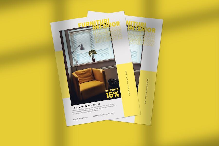Clean & Minimalist Flyer Template Vol. 02