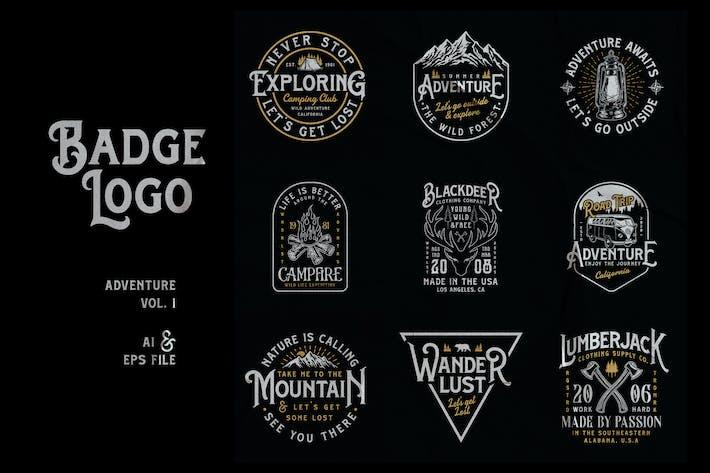 Thumbnail for Badge Logo - Adventure Series Vol. 1