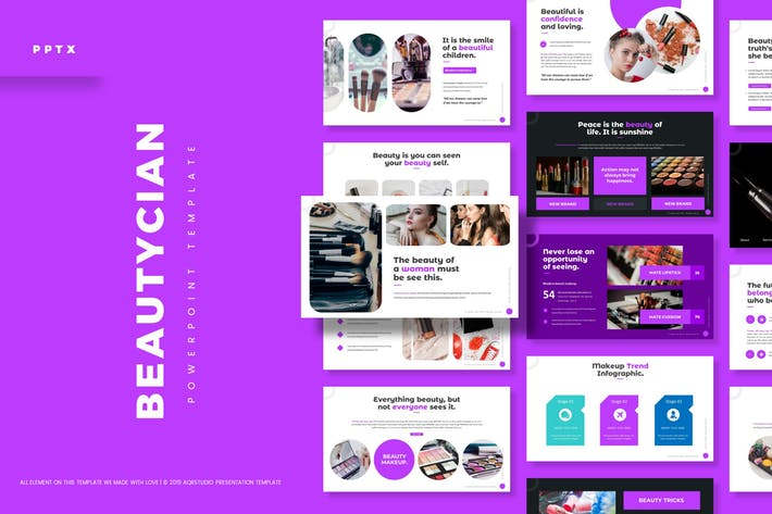 Beautician - Powerpoint Template