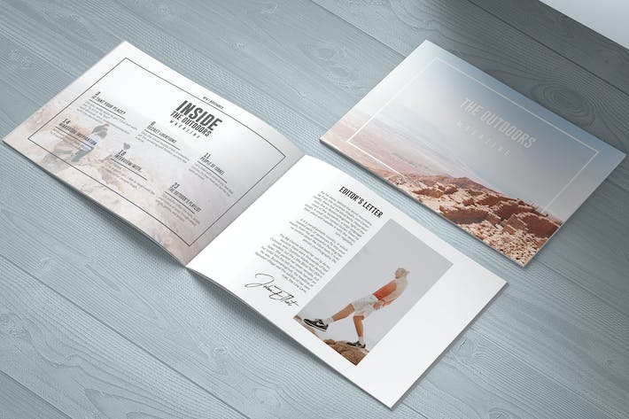 Thumbnail for The Outdoors | Travel Magazine Landscape Template