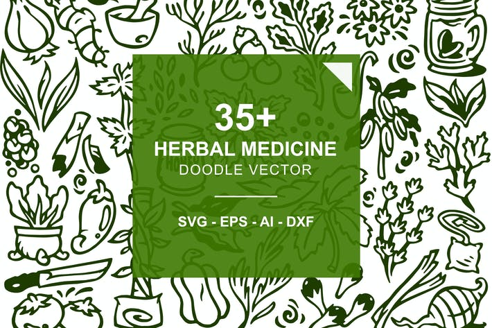 Thumbnail for Herbal Medicine Doodles
