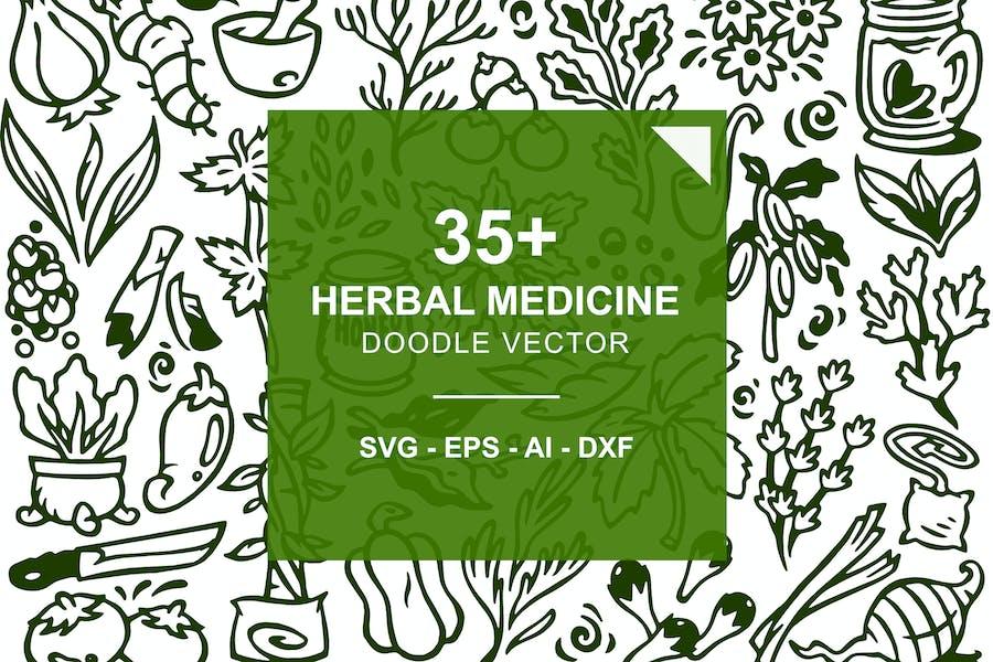 Herbal Medicine Doodles