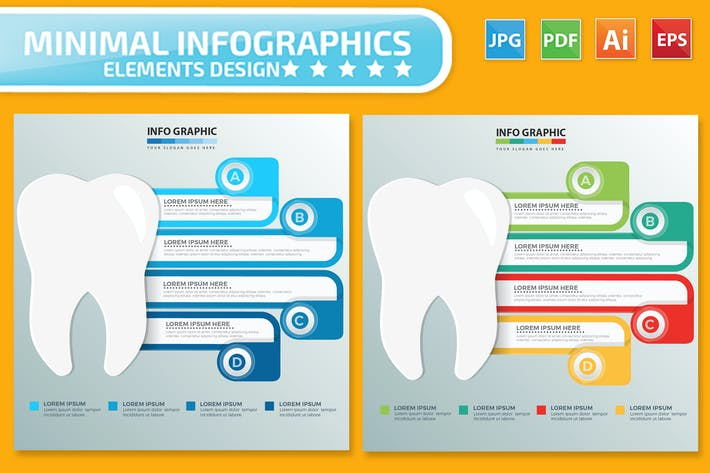 Thumbnail for Tooth Infographics design